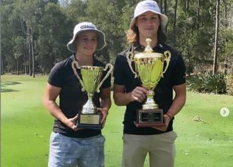 Ashleigh Barty, número uno en el tenis y también en el golf