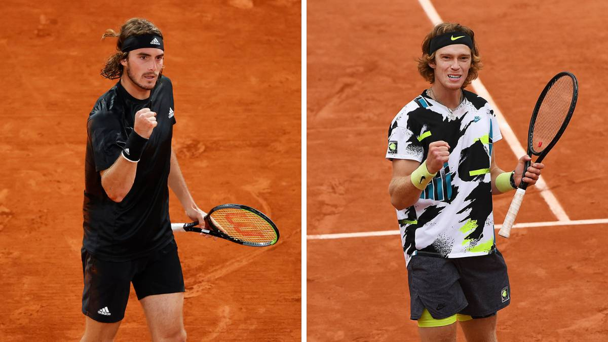 Tsitsipas-and-Rublev-meet-in-the-quarterfinals-for-the-first-time