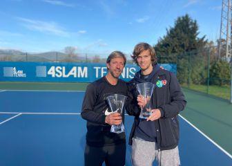 Rublev y Fernando Vicente triunfan en los ATP Awards 1