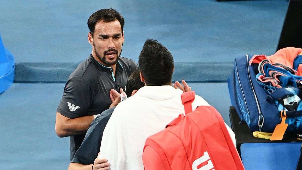 Sparks-fly:-Fognini-and-Caruso-face-off-after-a-hot-ending