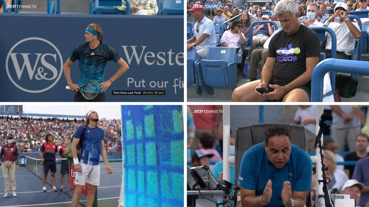 """Zverev-suspects-Tsitsipas-and-the-Greek-charges-the-referee:-""""He-doesn't-have-the-best-reputation"""""""