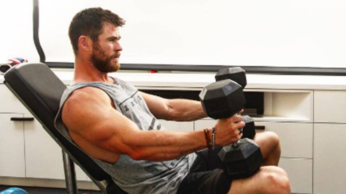 El duro entrenamiento de Chris Hemsworth para ser Thor