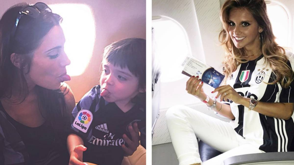 La Final de Champions de las WAGs del Real Madrid y la ...