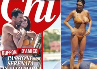 Gianluigi Buffon y su novia calientan aún más el verano