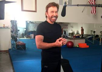 Chuck Norris sobrevive a dos infartos seguidos en una hora