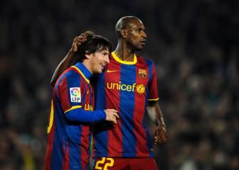 Abidal habla de su cáncer y confiesa qué le pidió Messi