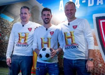 David Villa trae la Historia del fútbol a la televisión