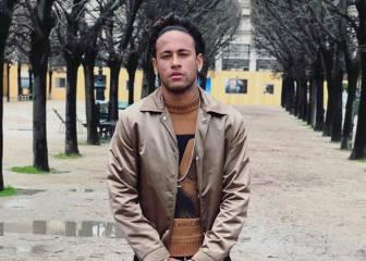 El look de Neymar para la Semana de la moda de París