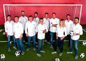 Todas las caras que contarán el Mundial en Mediaset