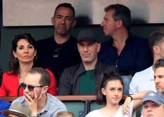 Zidane y otros famosos no se perdieron la final de Nadal