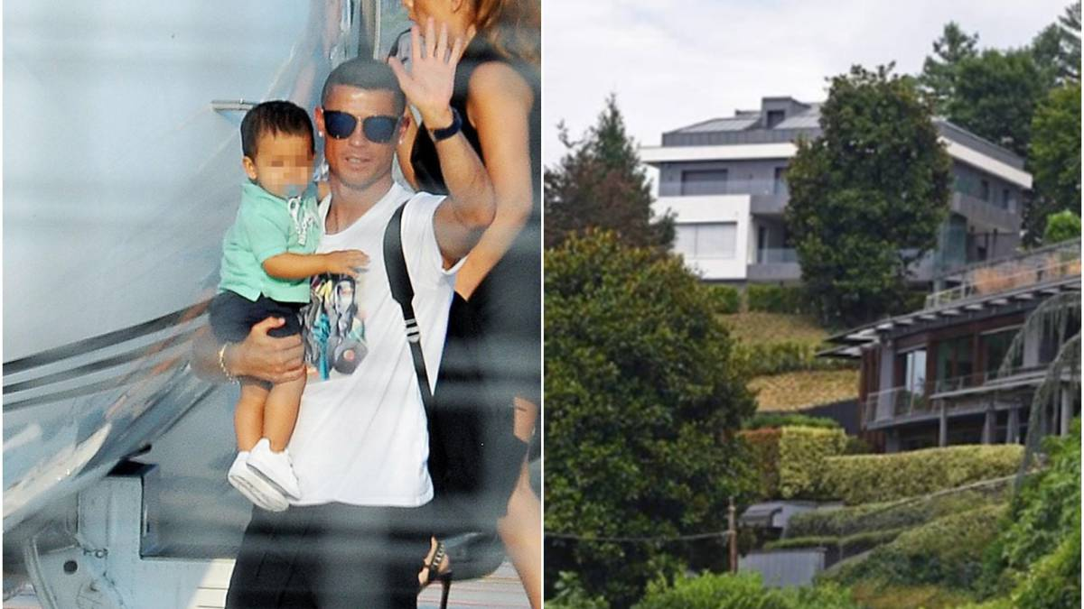 Ronaldo opts for modern and vanguard villa in central turin