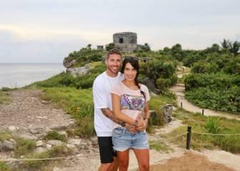 Sergio Ramos apura sus vacaciones en México