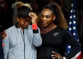 Naomi Osaka revela lo que le susurró Serena Williams tras ganar el US Open