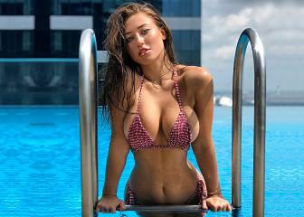 Stefanie, deportes acuáticos