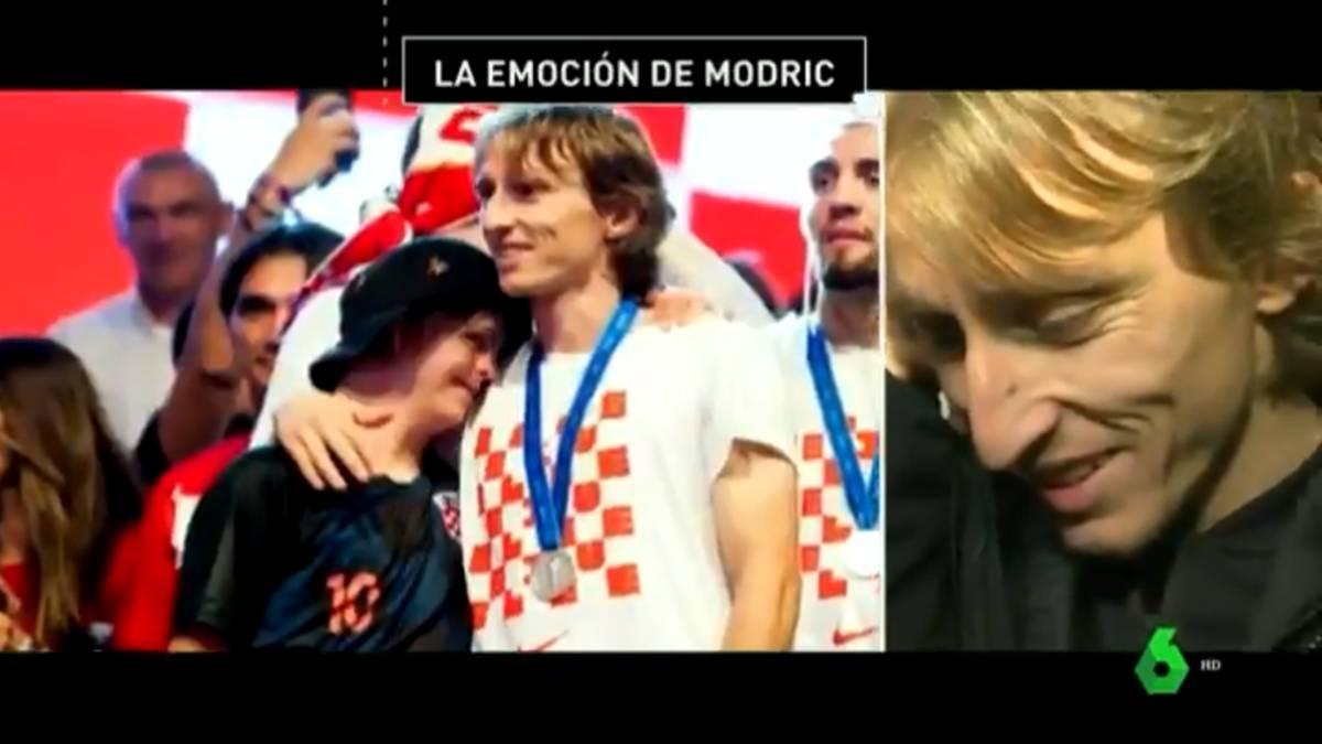 Resultado de imagen para Luka Modric emocionado