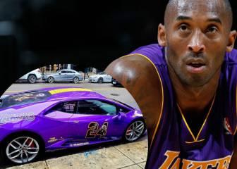 Un fan de Kobe Bryant tunea un Lamborghini en homenaje al exbaloncestista