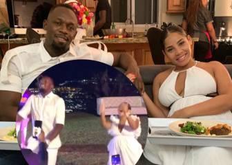 Usain Bolt y su pareja, Kasi Bennett, revelan por todo lo alto el sexo de su bebé