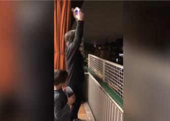 Pura fantasía: lo que hizo esta mujer en su terraza levantó a todo su vecindario