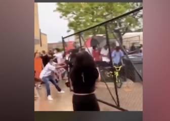 Atacan una comisaría de Minneapolis en las protestas por la muerte de George Floyd