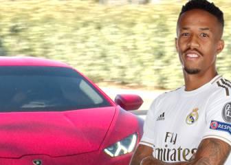 La última joya del garaje del Madrid: Militao y su coche de 400.000 ? con la música a tope