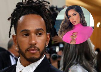 Hamilton, pillado en un hotel de Nueva York con la modelo de OnlyFans, Janet Guzmán