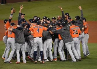 Los Houston Astros se proclaman reyes del béisbol por primera vez