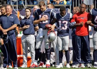 Tom Brady habló con sus compañeros sobre las protestas