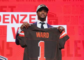 El novato Denzel Ward ya genera impacto con los Browns