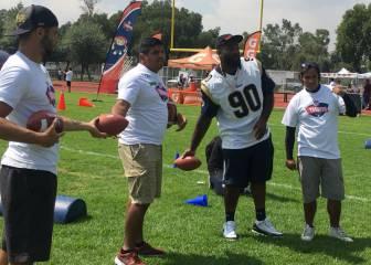 Rams y Chiefs imparten clínicas en la Ciudad de México