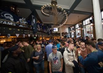 Los pubs de los equipos de la NFL en Inglaterra