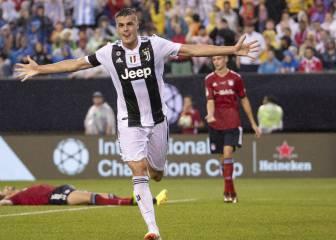 La victoria de la Juventus ante el Bayern en imágenes