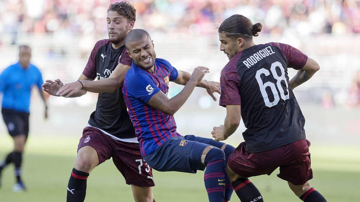 Milan - Barcelona (1-0): Resumen y gol del partido - AS USA
