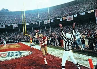 Los 49ers rendirán homenaje al autor de 'The Catch'