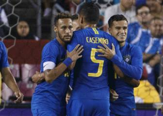Noche de pesadilla para El Salvador, cortesía de Neymar