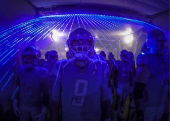 Diez imágenes de la victoria de los Lions sobre los Patriots