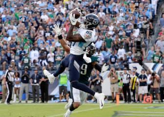 Los Titans dan la sorpresa de la semana al derrotar a los Eagles