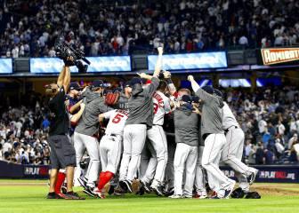 Boston derrota a Yankees y va a la Serie de Campeonato