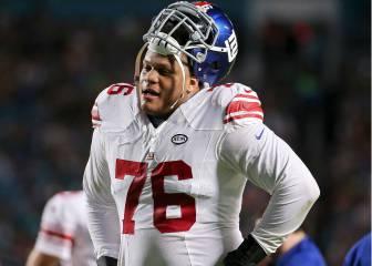 Después de salir de Giants, Ereck Flowers llega a los Jaguars