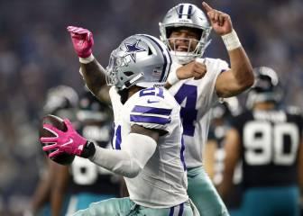 Los Cowboys se mantienen invictos en el AT&T Stadium
