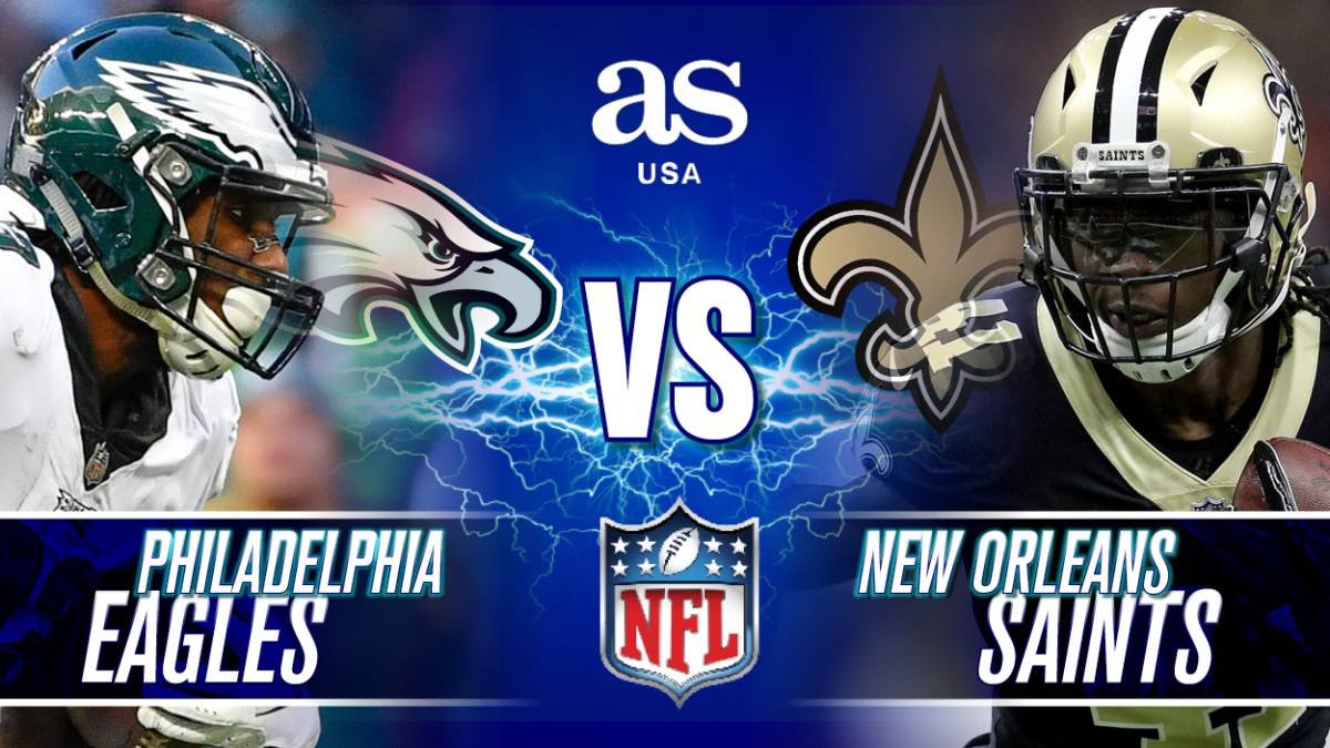 Eagles Vs Saints En Vivo Nfc Divisional Round Nfl As Usa