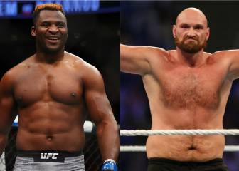 Tyson Fury quiere hacer su debut frente a Ngannou