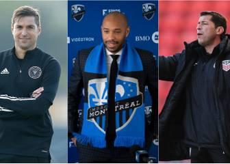 Estas son las nuevas caras en los banquillos de la MLS