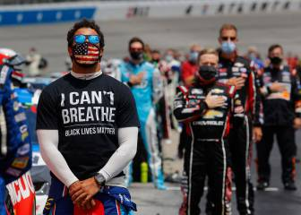 NASCAR le responde a Trump; sale en defensa de Bubba Wallace