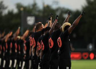 Así fue el emotivo homenaje de la MLS a George Floyd