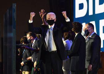 Biden pide sanar EEUU en su primer discurso