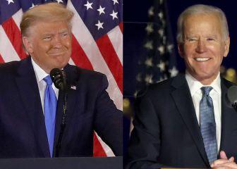 Elecciones Presidenciales USA 2020: mapa de resultados por estado del Biden vs Trump