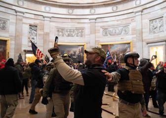 Protestas en el Capitolio, en directo: seguidores de Trump en Washington   Últimas noticias