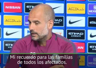 El mensaje de ánimo a Barcelona de Guardiola tras los atentados