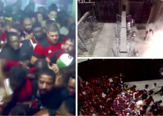 Terror en Maracaná: se filtran las imágenes de los graves disturbios