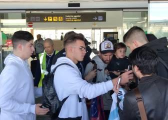 Messi, Luis Suárez y Mascherano ya están en Barcelona